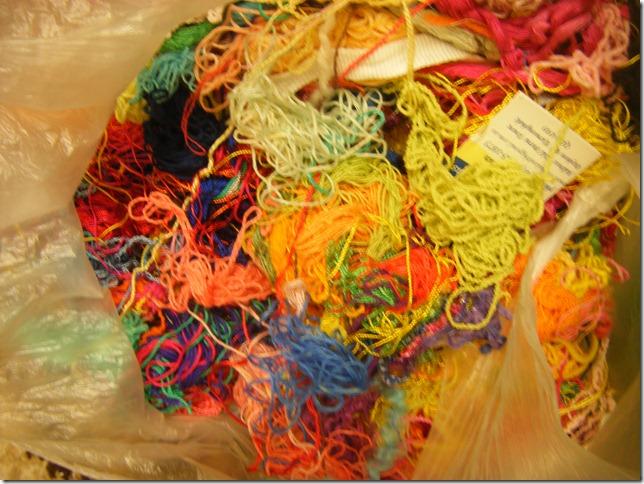 thread scraps