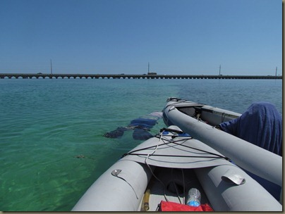 kayaking around sunshine key, snorkeling