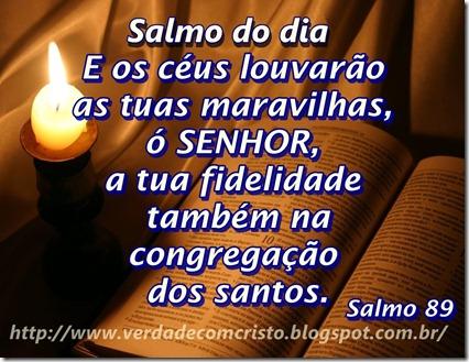 SALMO DO DIA 89