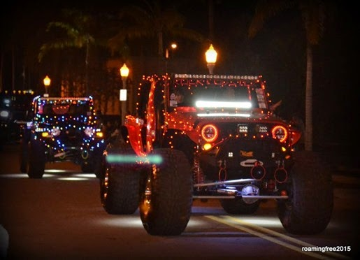 Lighted Jeeps