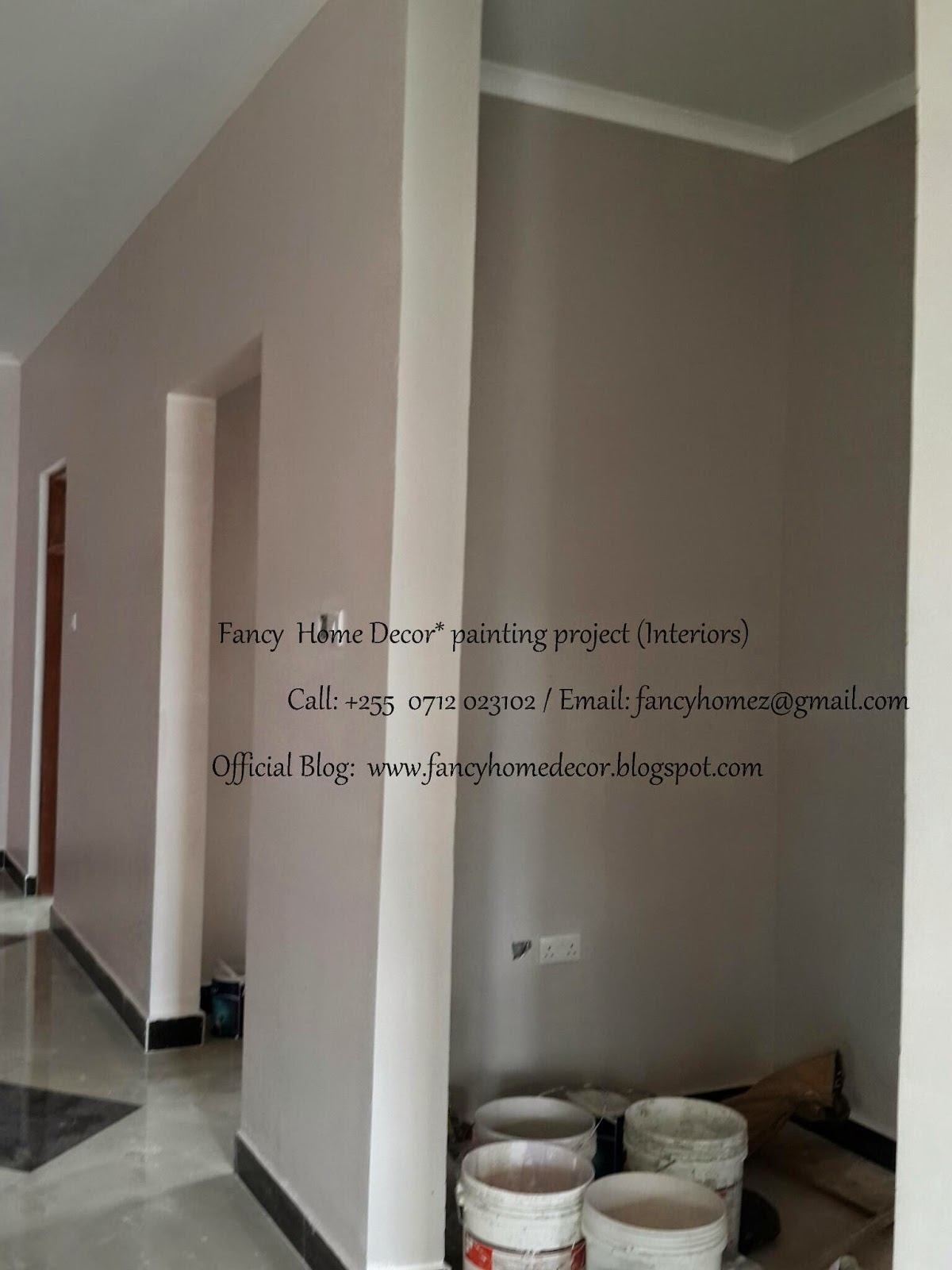 Fancy home decor my project interior paints decoration for Decoration za nyumba