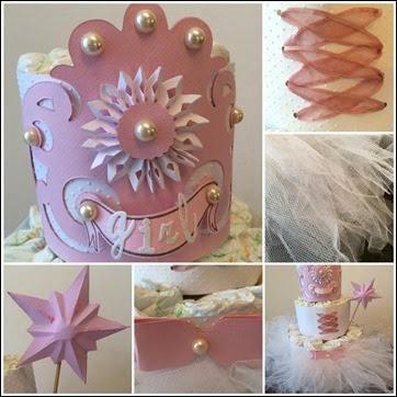 diaper cake principessa (2)