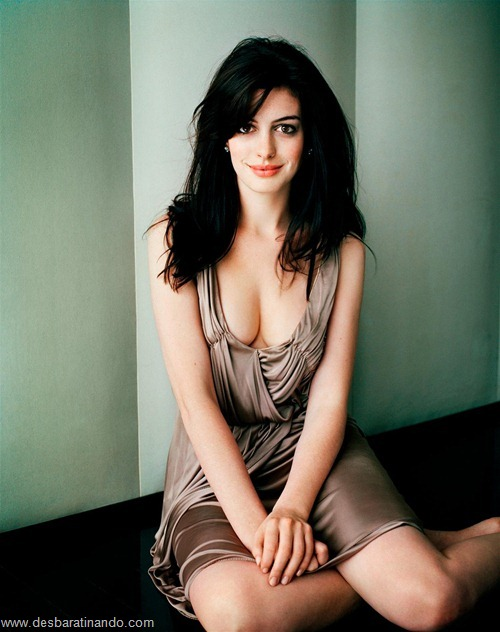 anne hathaway linda sensual sexy desbaratinando  (10)
