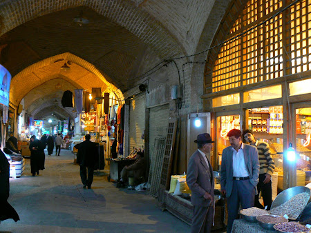 Imam square: The old Bazaar of Isfahan