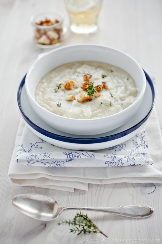 Creamy Cauliflower Soup (0085) by Meeta K. Wolff