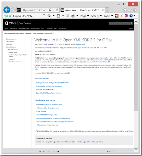 office open xml