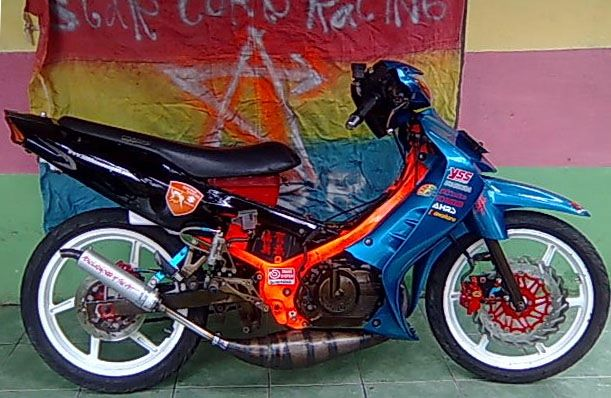 GALLERY MOTOR SPORT MODIFIKASI  SUZUKI SATRIA 120 R MODIFIKASI