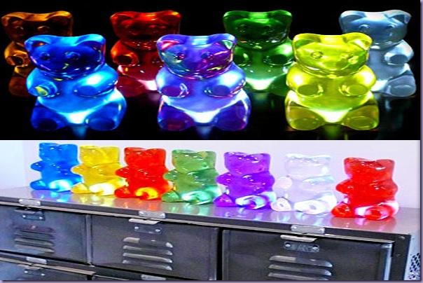 Luminária-Gummy-Bear