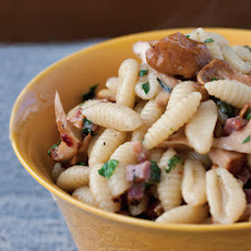 Gnocchetti with Pancetta, Chanterelles, and Mint