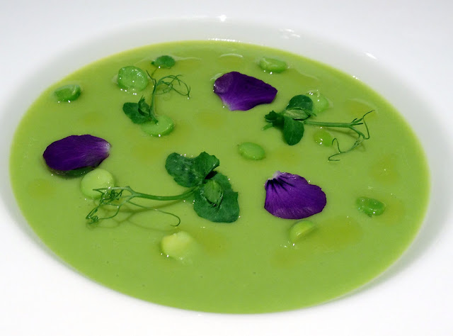 Anne-Sophie Pic Pea Soup 9 12