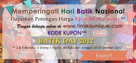 Slide untuk promo batik day 2012