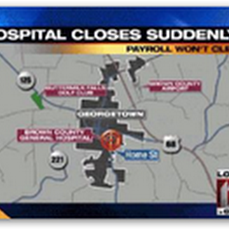 Hospital Abruptly Closes as Creditor Called in Debt in Ohio-300 Jobs Gone Instantly