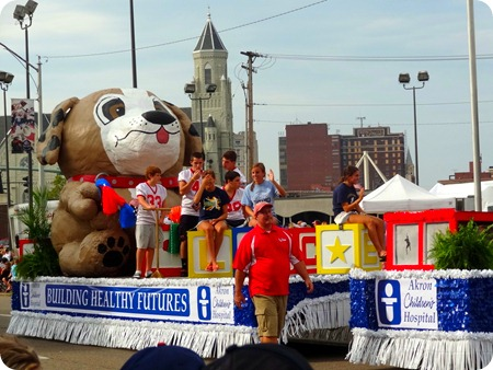 HOF float