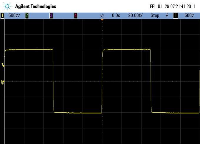 o2 agilent 10 Khz Sennheiser CX300 2v p-p