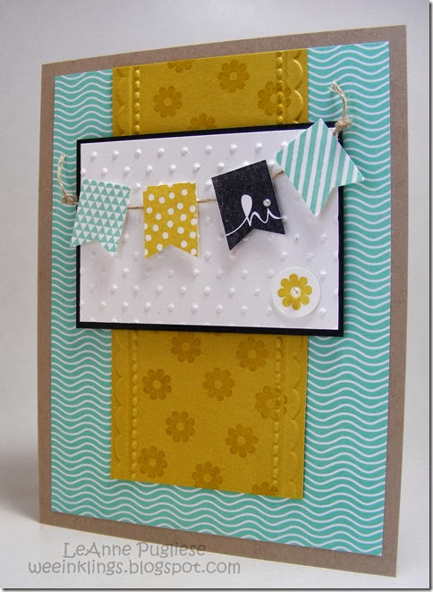LeAnne Pugliese WeeInklings ColourQ230 Banner Blast SAB Stampin Up