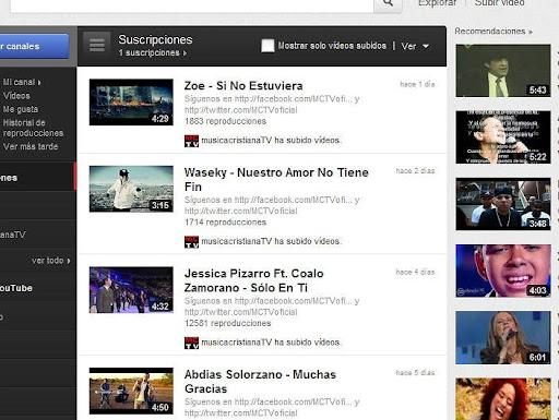 youtube peru