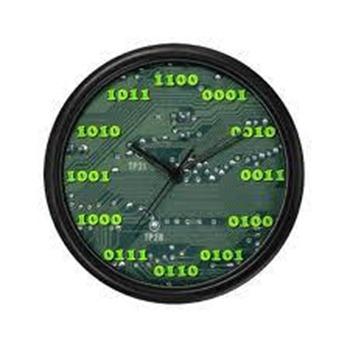 orologio binario