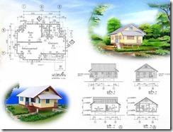 แบบบ้านเพื่อประชาชน บ้านแบบประหยัดแบบที่2