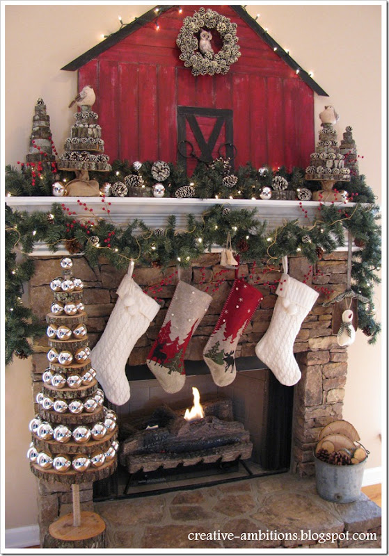 Christmas Mantel3