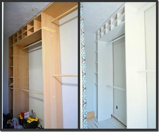 paint closet