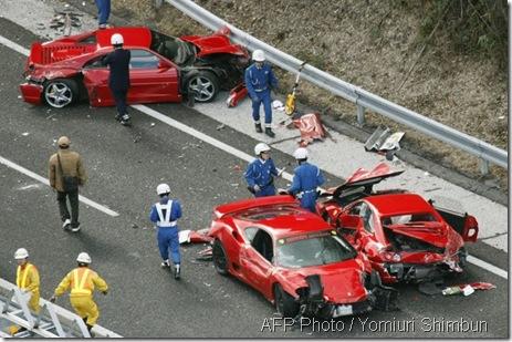 Ferrari kemalangan 1