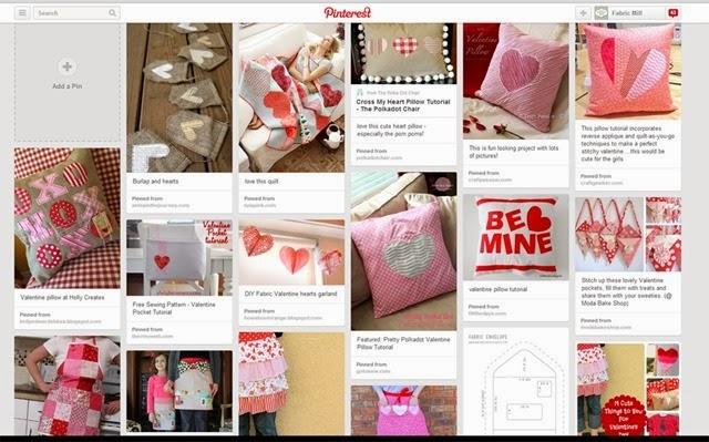 valentine pinterest page