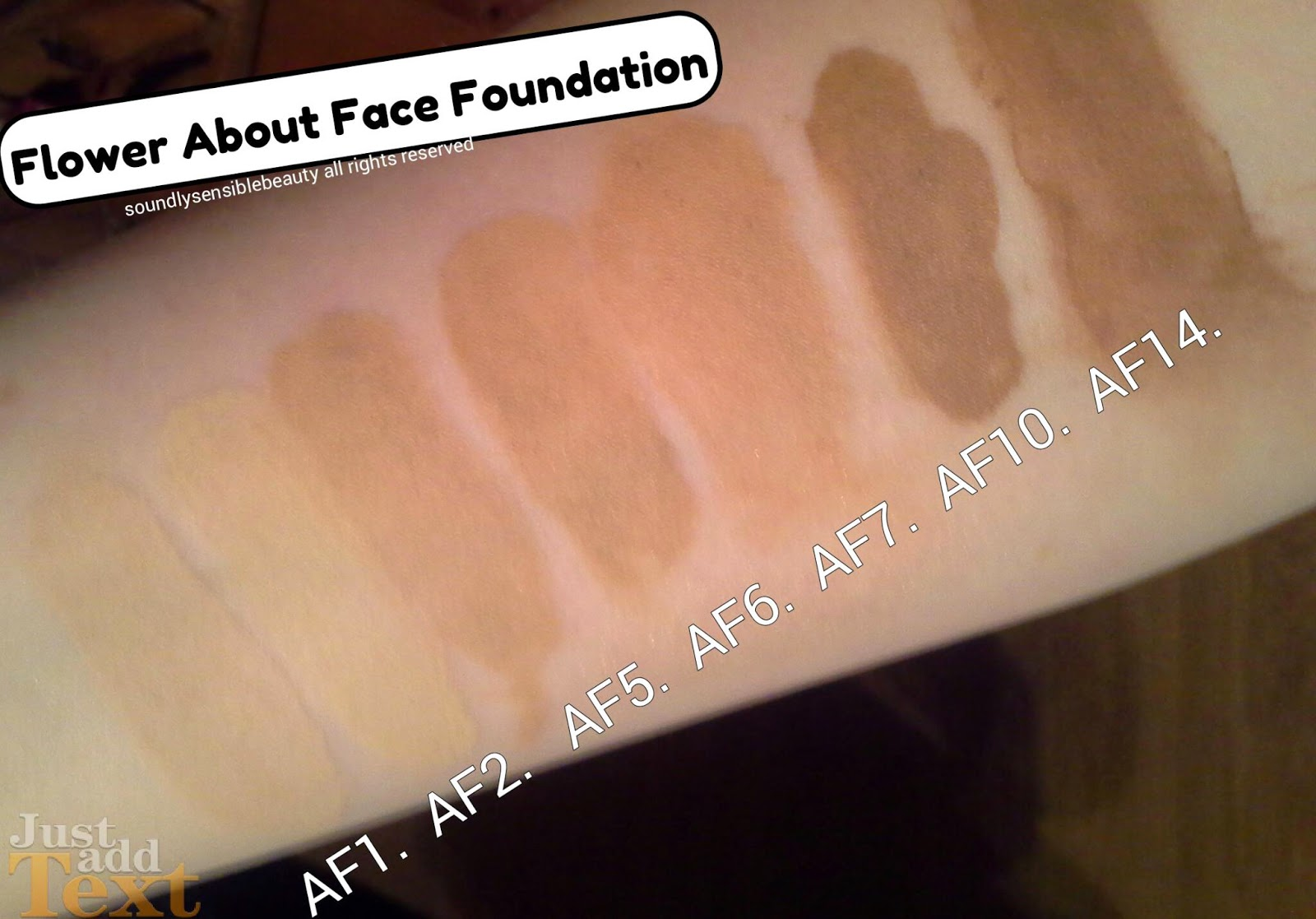 Flower By Drew Barymore About Face Foundation Review Swatches Of
