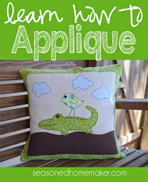 learn how to applique