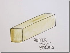 hand drawn butter pic