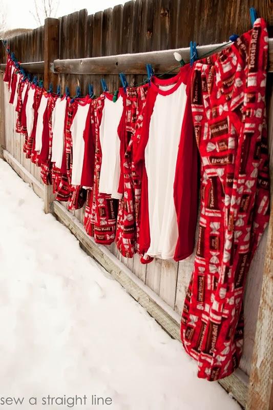 cousin christmas pajamas sew a straight line-1-2