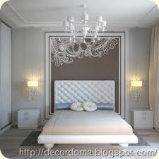 люстры для декора интерьера спальни