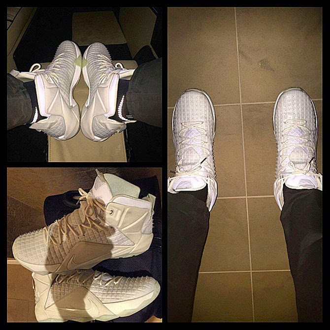 King James Unveils 8220White on White Rubber City 12s8221 ...
