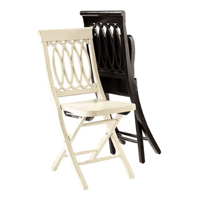 Another Ballard Designs folding chair that has two beautiful colors pictured above.
