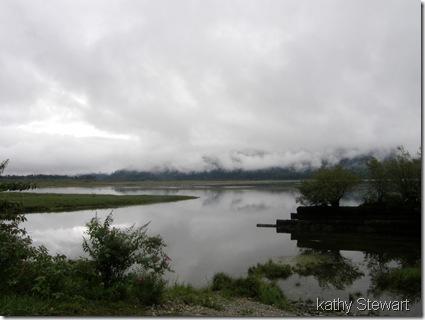 rising water?
