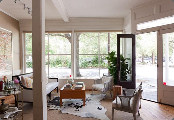 studio consultation area nHCQUDH1rCQl  Tara Guerard in Lonny Magazine
