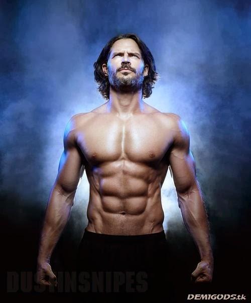 Joe Manganiello Muscle and fitness magazine January 2014 (2)