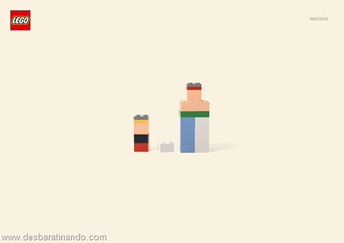 asterix e obelix lego minimalista