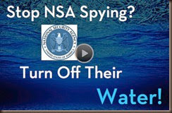Picture by Ben Swann - Turn Off the NSA Water