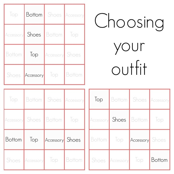 su sews so so style sudoku how to build a capsule wardrobe. Black Bedroom Furniture Sets. Home Design Ideas