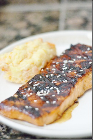 I had that craving almost every other day while I was pregnant and never had the energy t Toasted Sesame Salmon