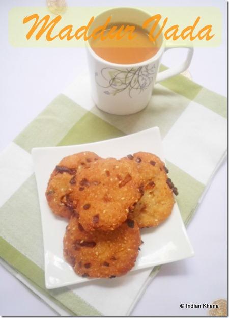 Easy Maddur Vada vade bada Recipe