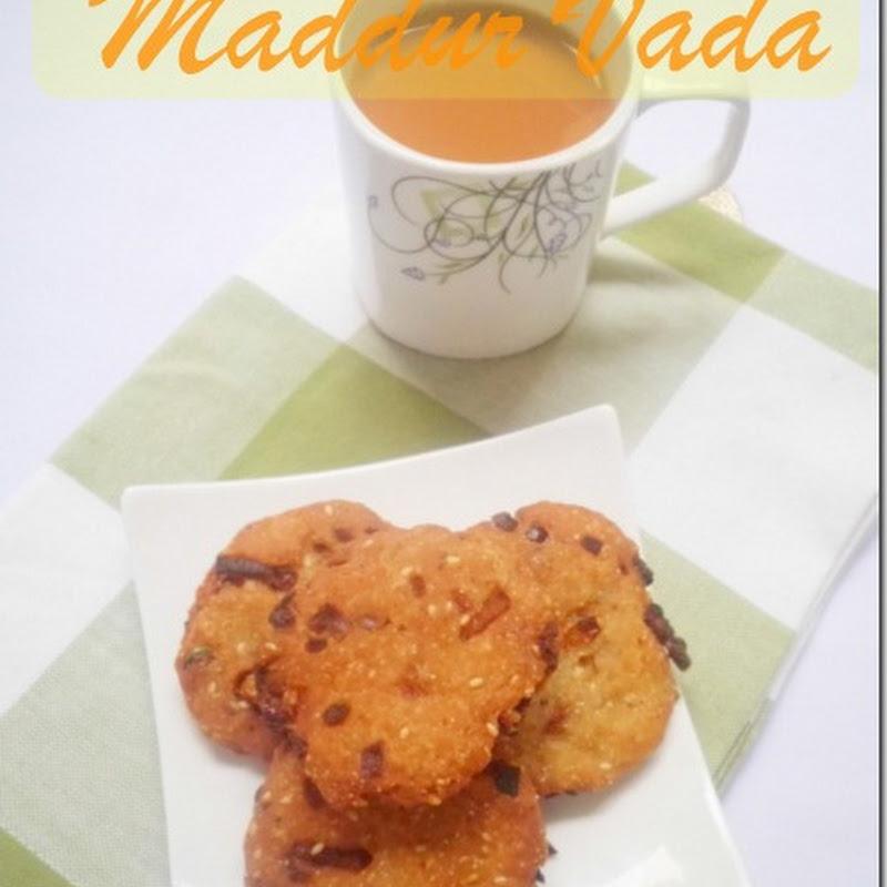 Maddur Vada | Maddur Vade Recipe