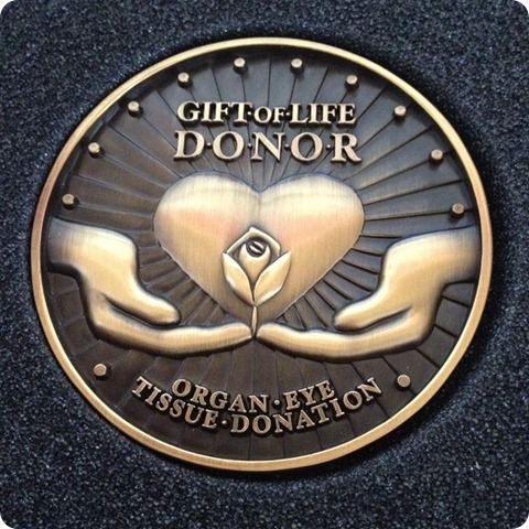 Donor Medal (Medium)