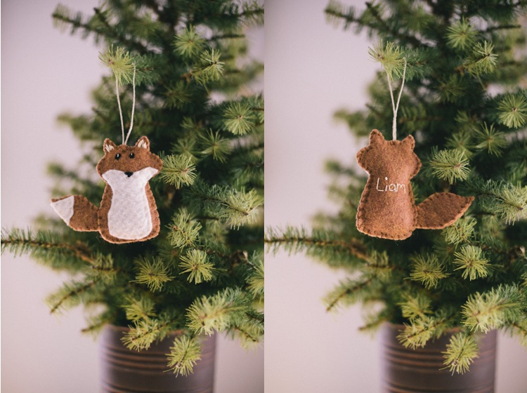Liam s fox ornament
