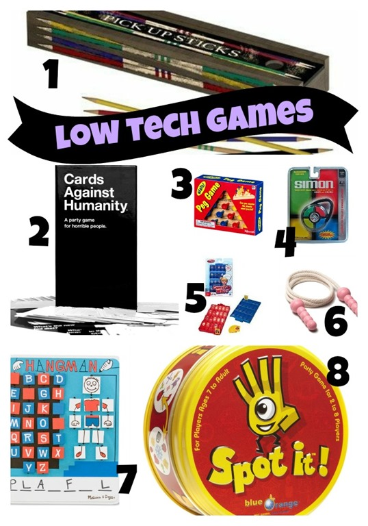 Stocking Stuffer Games