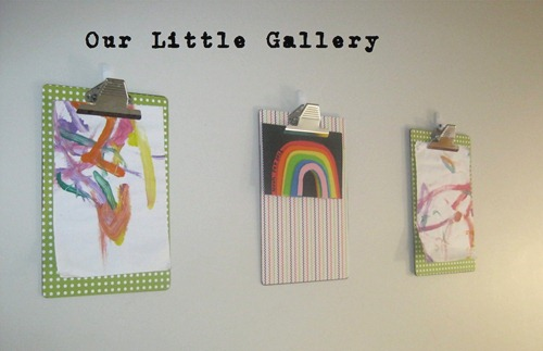 our little gallery