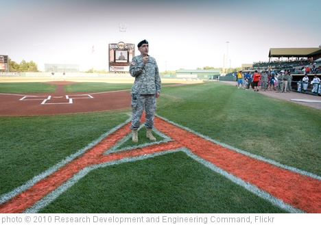 'APG Leaders take part in Military Appreciation Night' photo (c) 2010, Research Development and Engineering Command - license: http://creativecommons.org/licenses/by/2.0/
