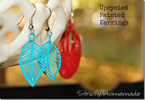 Painted Earrings 1