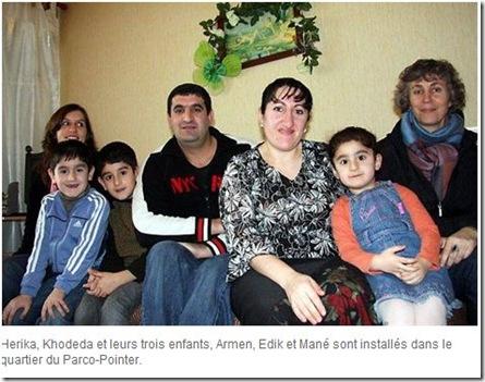 famille réfugiés france