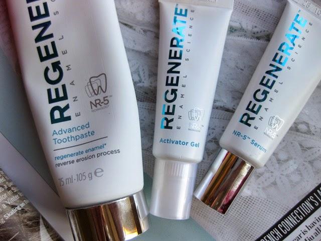 Regenerate-toothpaste serum-system